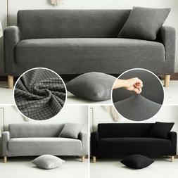 1-4 Seats Sofa Couch Cover Stretch Slipcover Settee Armchair