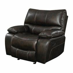 Coaster Willemse Casual Glider Recliner with Lumbar Support,