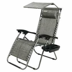 Adjustable Folding Shade Reclining Chairs /w Cup Holder & He
