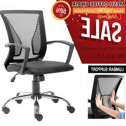 Adjustable High Back Mesh Office Chair Swivel Reclining Comp