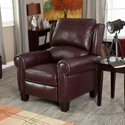 Barcalounger Charleston Recliner - Burgundy, Red, Standard