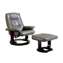 Cheste Multifunctional Swivel Lounger Chair With ottoman, N/