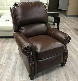 Barcalounger Churchill II Recliner Broughton Saddle Top Grai