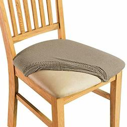 Cushion Slipcover Fitted Chair Seat Cover Furniture Protecto