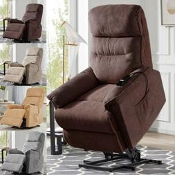 Electric Power Lift Recliner Chair Sofa Heavy Duty Motion Ov