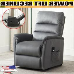 Electric Power Lift Recliner Chair Sofa Lounge Seat Home Fur