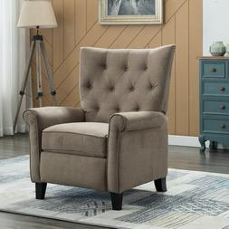 Elizabeth Tufted Push Back Recliner Chair Reclining Padded C
