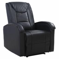 Ergonomic Sofa Chair Recliner Lounge Deluxe PU Leather Home