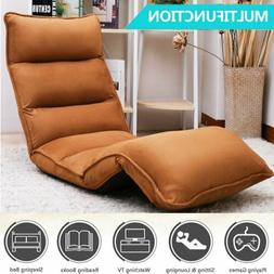 Folding Lazy Sofa Floor Sofa Lounger Recliner Chair Seating