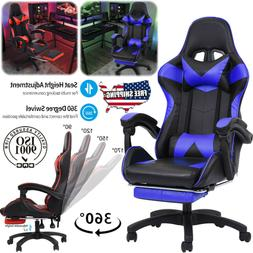 Gaming Chair Ergonomic Office Height Adjustable Swivel Recli