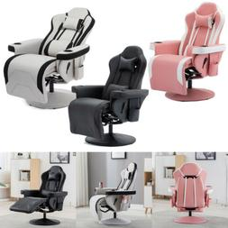 Gaming Recliner Chair Living Room Lounge Sofa Adjustable hea