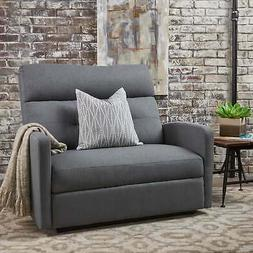 Halima Fabric 2-Seater Recliner Club Chair by Christopher  O