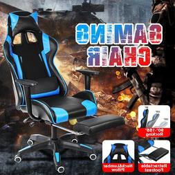 High Back Racing Gaming Chairs Computer Office Chairs Leathe