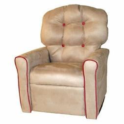 Dozydotes Kids Accent Rocker Recliner - Oyster/Dusty Rose Ac