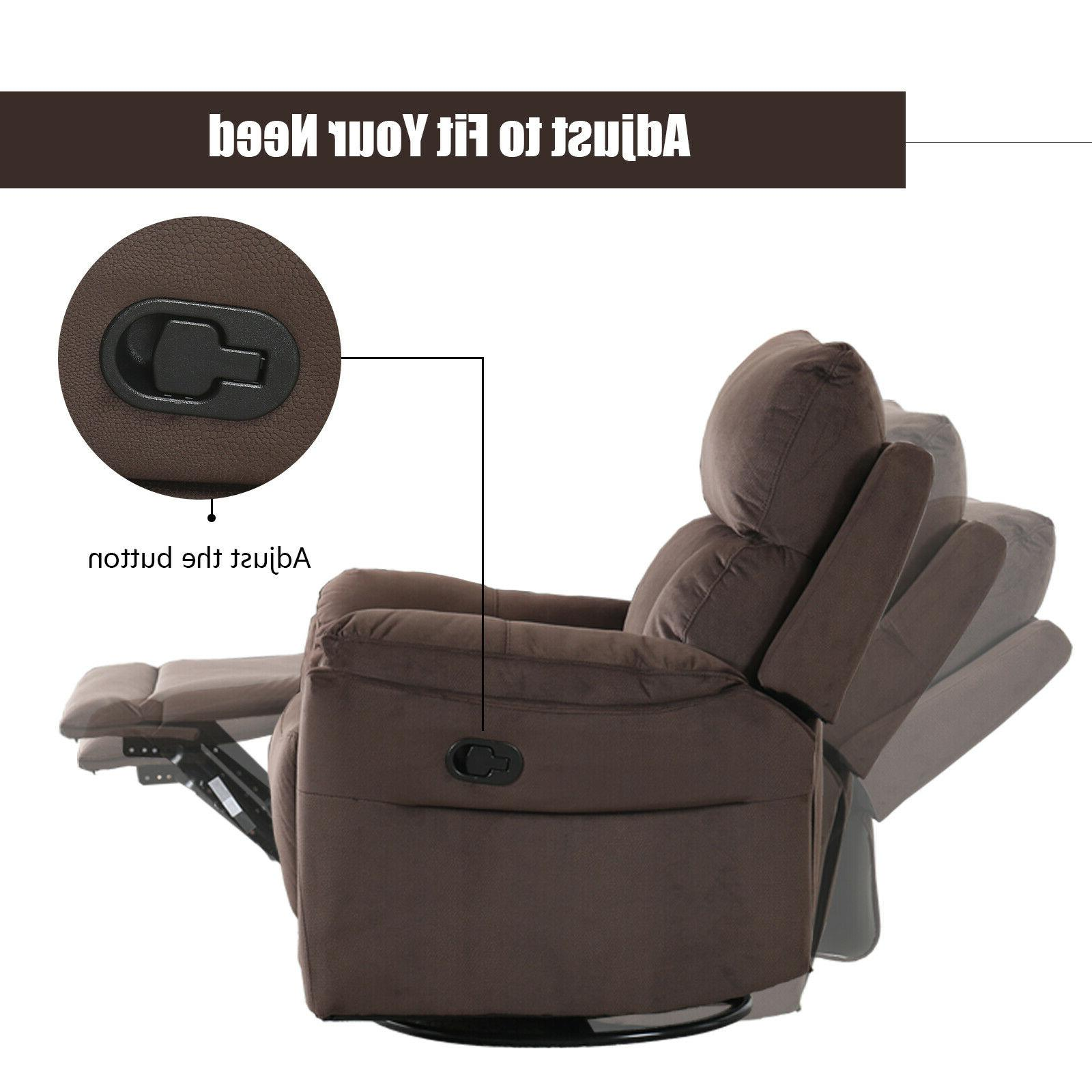 Darvis Leather Push Back Recliner