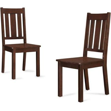 Better Gardens Bankston Mission Chairs, of 2,