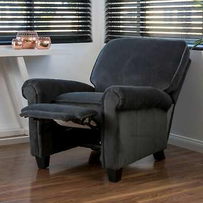 Dallon Fabric Recliner Chair by Home Grey Small