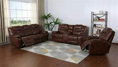 Dual Console HoldersBrown Leath
