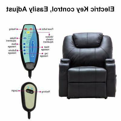 Electric Lift Chair Heated Control