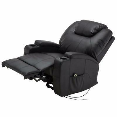 electric lift recliner chair heated massage