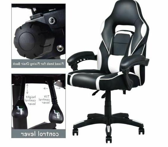 Executive Lift PU Leather Racing Gaming Chair