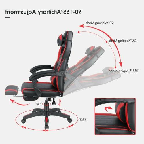 Gaming Chair Footrest RedSeat