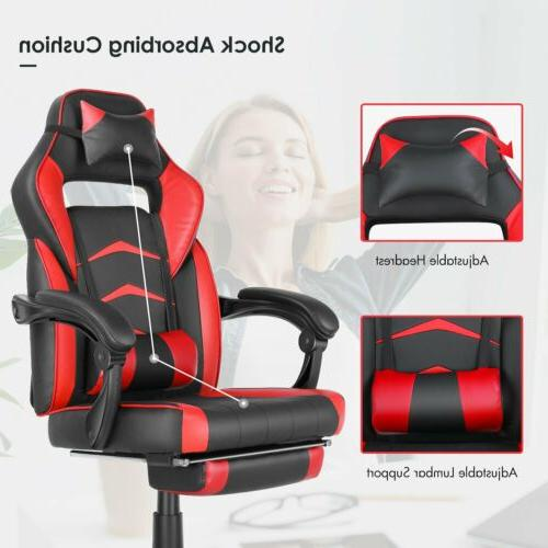 Gaming Height Adjustable Footrest RedSeat