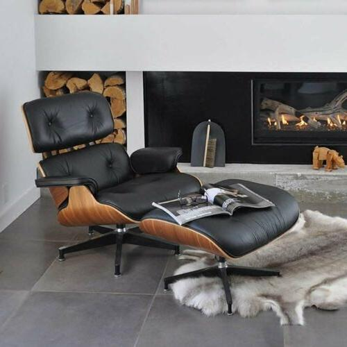 Premium Palisander Eames Lounge Chair and Ottoman Genuine It