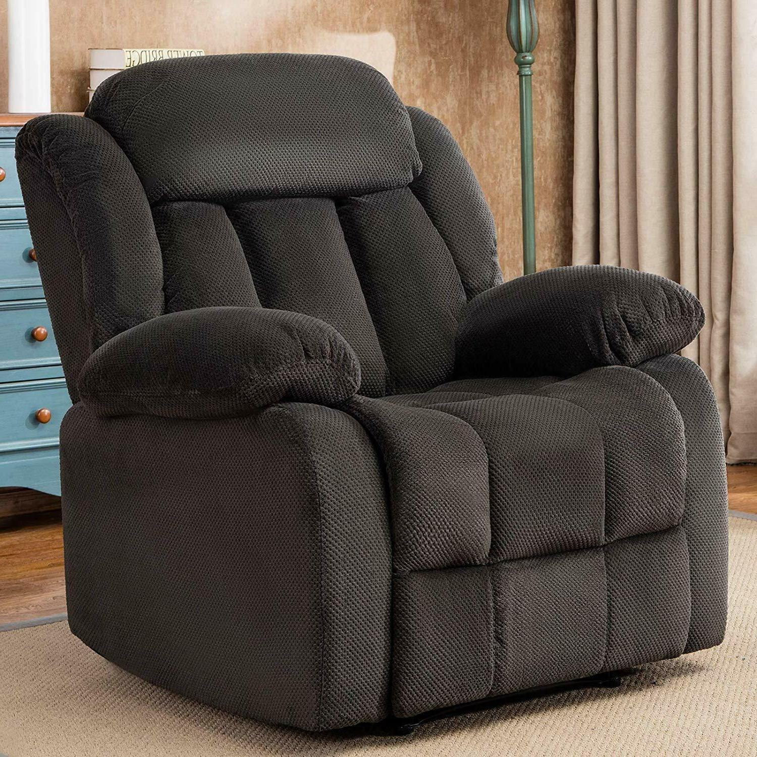 Manual Recliner Chair Living Room Lounge Oversized Chair Rec