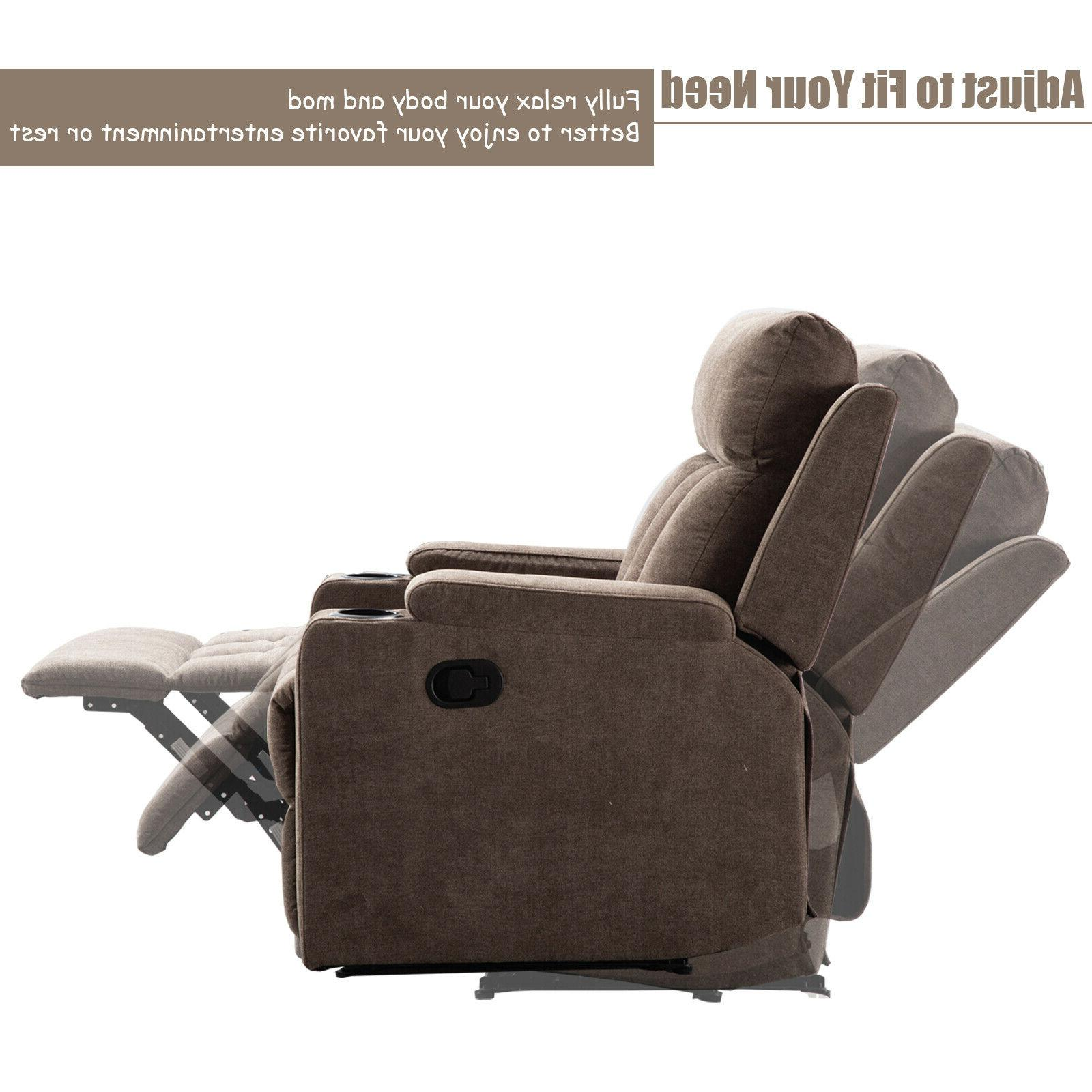 Manual Chair Room Cup Holders Lounge