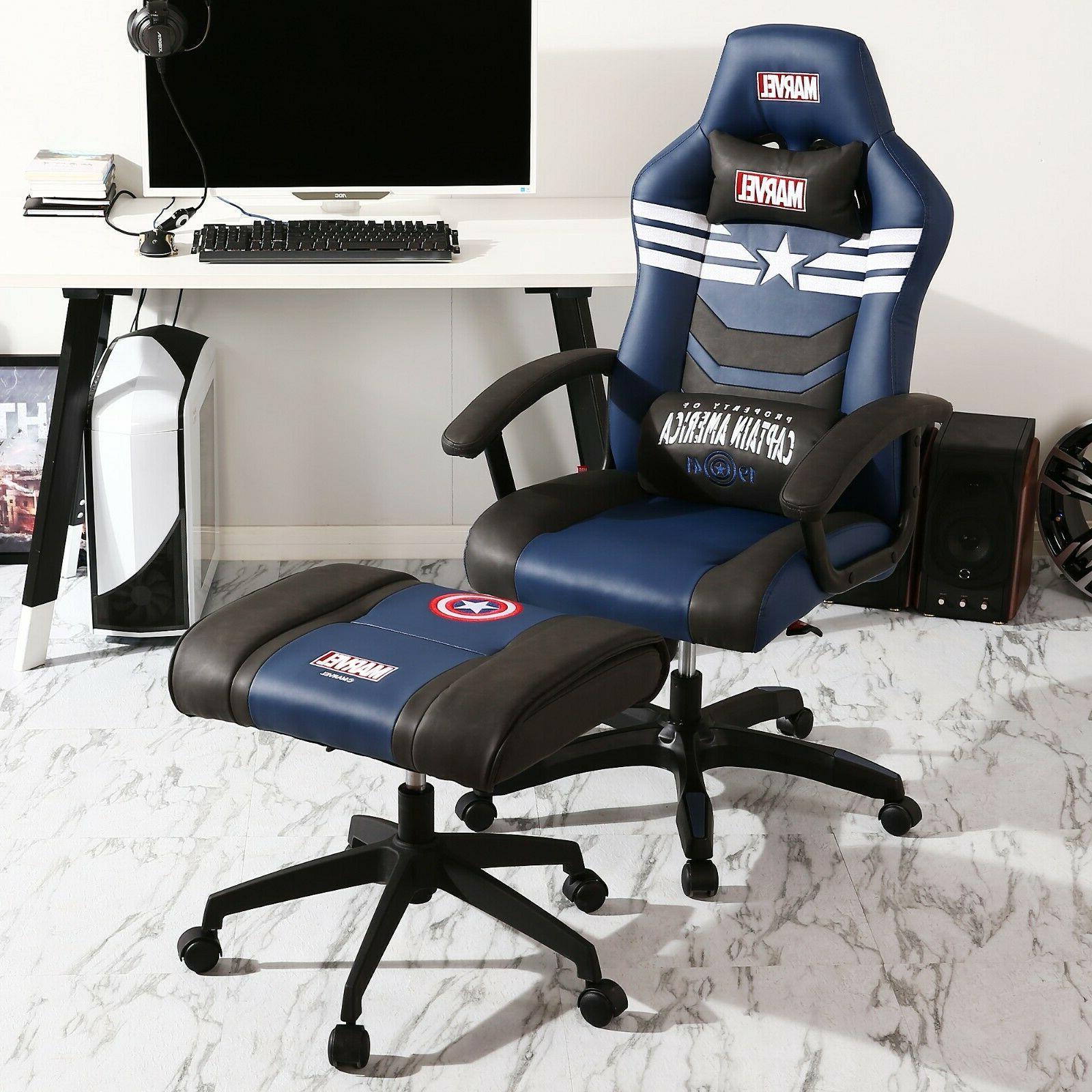 Marvel Avengers Chair Big & Wide Heavy Duty Chair Computer Chair