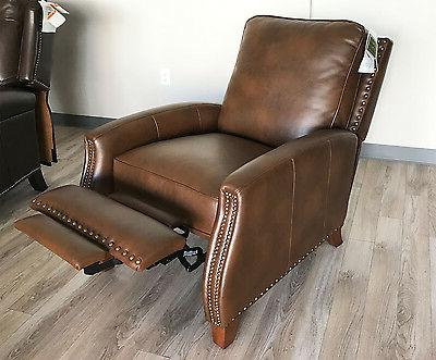 new melrose recliner chair bristol chocolate leather