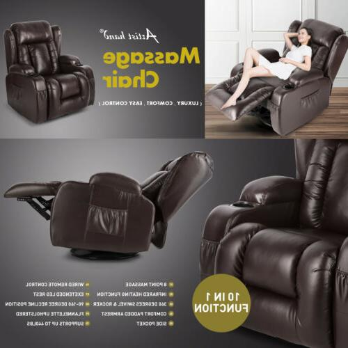 Oversize Chair Vibrated 360°Swivel