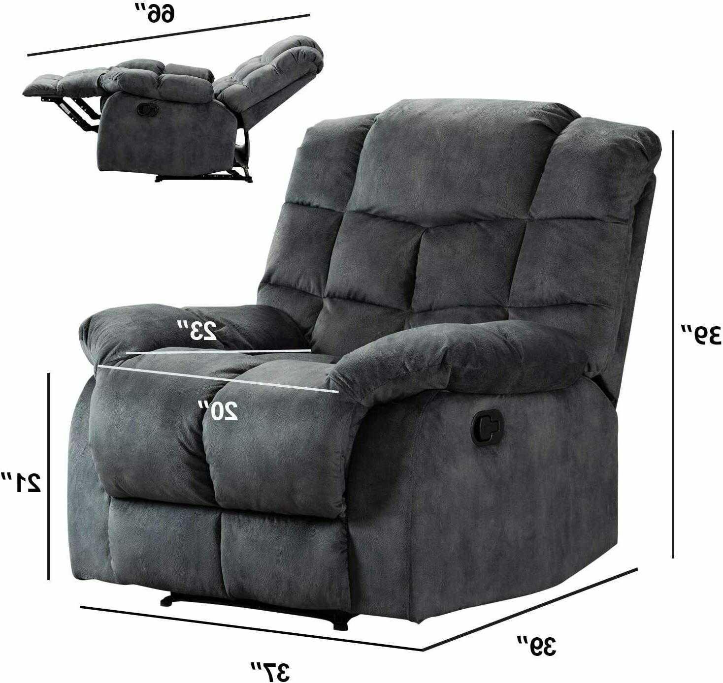 Overstuffed Single Couch Back Living