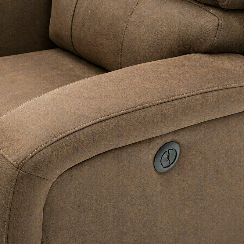 RECLINER CHAIR ELECTRIC POWER FURNITURE PADDED NEW