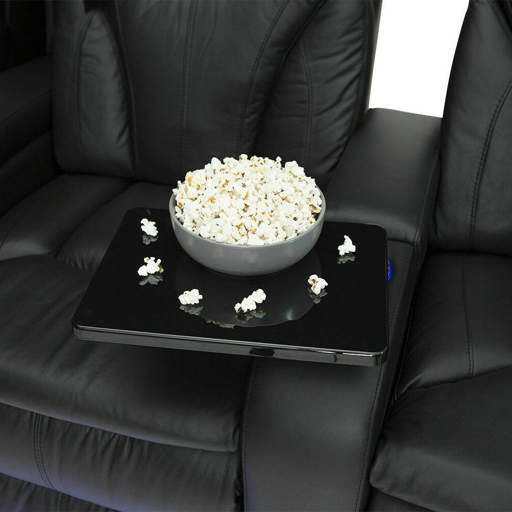 Barcalounger Black Theater Seating Chairs Seat Loveseat