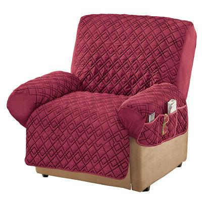 stretch storage recliner cover