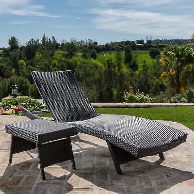 Toscana Outdoor 2-piece Adjustable Chaise Lounge