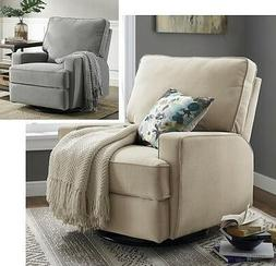 LARGE Swivel Glider Recliners Nursery Armchair Recliner Arm