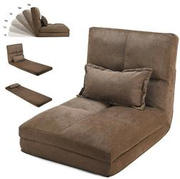 Lazy Chair Floor Sofa Foldable Couch Bed Recliner Japanese B
