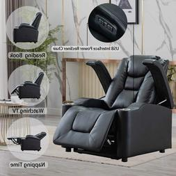Massage Recliner Chair With Massage Heat And Vibration Elder