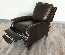 New Barcalounger Melrose Recliner Chair Genuine Edmond Choco