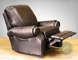 New Barcalounger Premier II Manual Wall Hugger Leather Recli