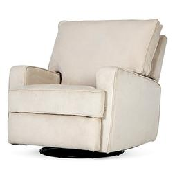 Recliner Sofa Swivel Chair Linen Ergonomic Padded Seat Loung