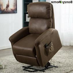 Power Lift Recliner Chair Armrest Chair Padded Seat Lounge S