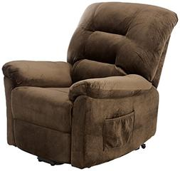 Power Lift Recliner - Color: Chocolate