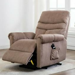 Power Massage Recliner Chair Padded Armrest Home Theater Lou