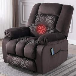 Power Massage Recliner Chair With Heat And Vibration Home Th