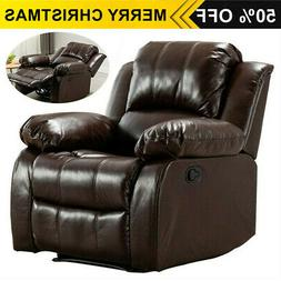 Pushback Recliner Chair sofa Living Room Armchair Overstuffe