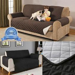 Quilted Sofa Couch Covers Armchair Recliner Sofa Slipcovers